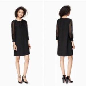 NWT Kate Spade 100% Silk Shift Dress 92K